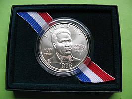 США 1 доллар 1998 г. 275 лет со дня рождения Криспаса Эттакса. UNC