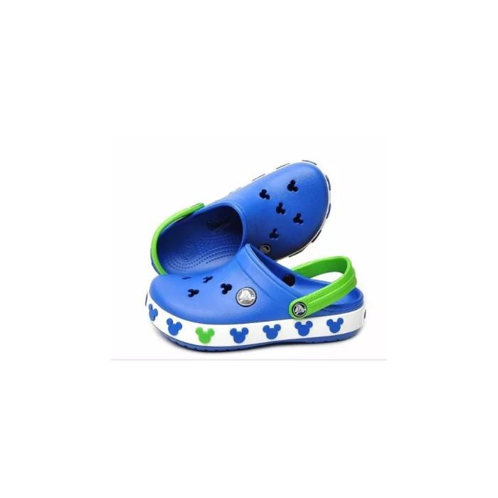 Кроксы летние Crocs Crocband Mickey ІI Kids (37) 24-25 разм. С 8/9