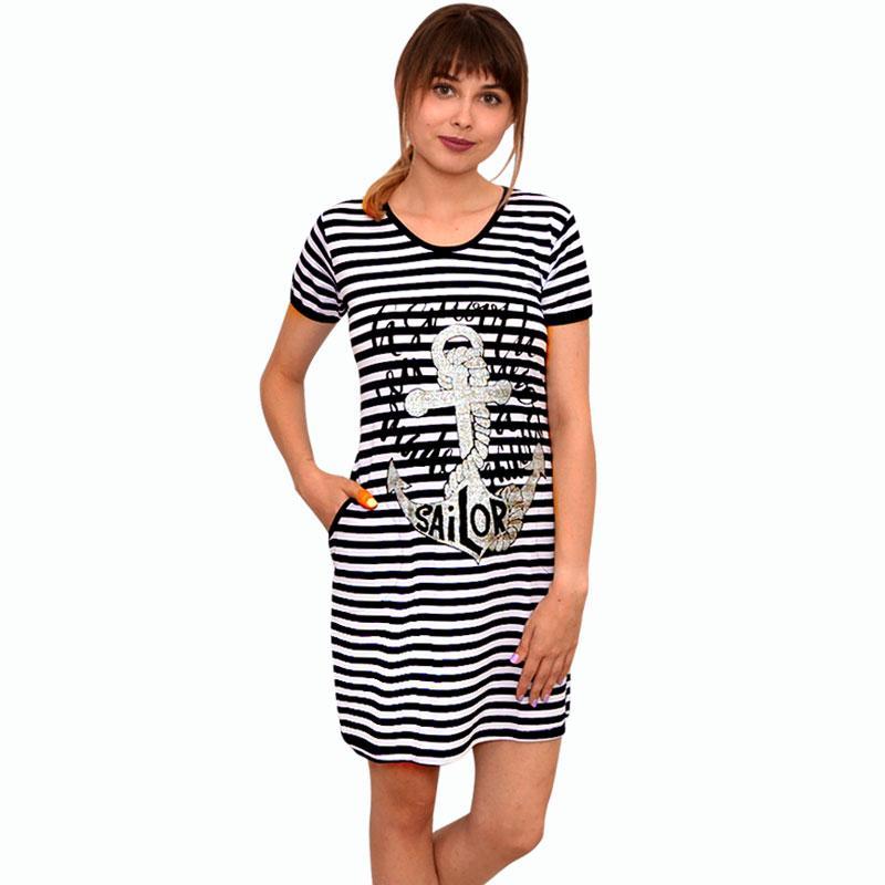 Платье полоска с вискозы