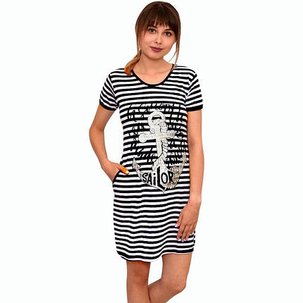 Платье полоска с вискозы, фото 2