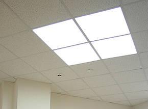 Светодиодная панель 40W 4000/6000K в белой рамке, фото 2