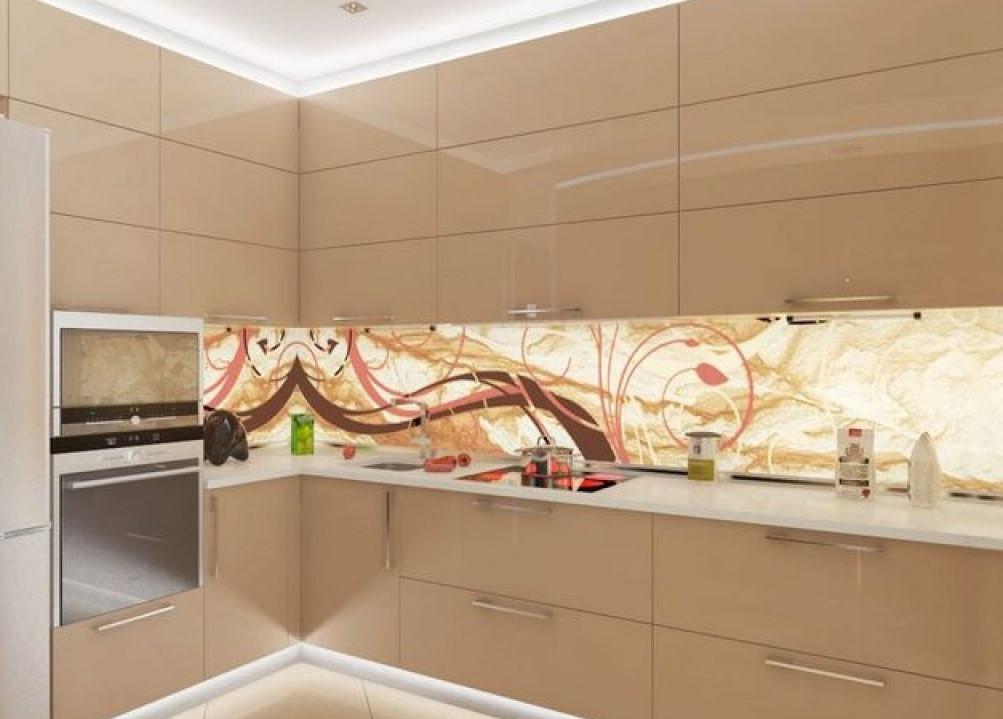 Кухня кольору капучіно від фабрики меблів ViAnt - Київ, Ірпінь, Буча, Вишгород
