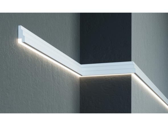 Фасадный Молдинг под LED-подсветку   MC 302LED