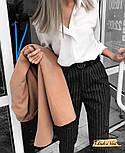 Женская белая рубашка с длинным рукавом, фото 2