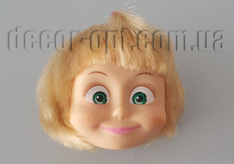 Голова куклы Маша  5см