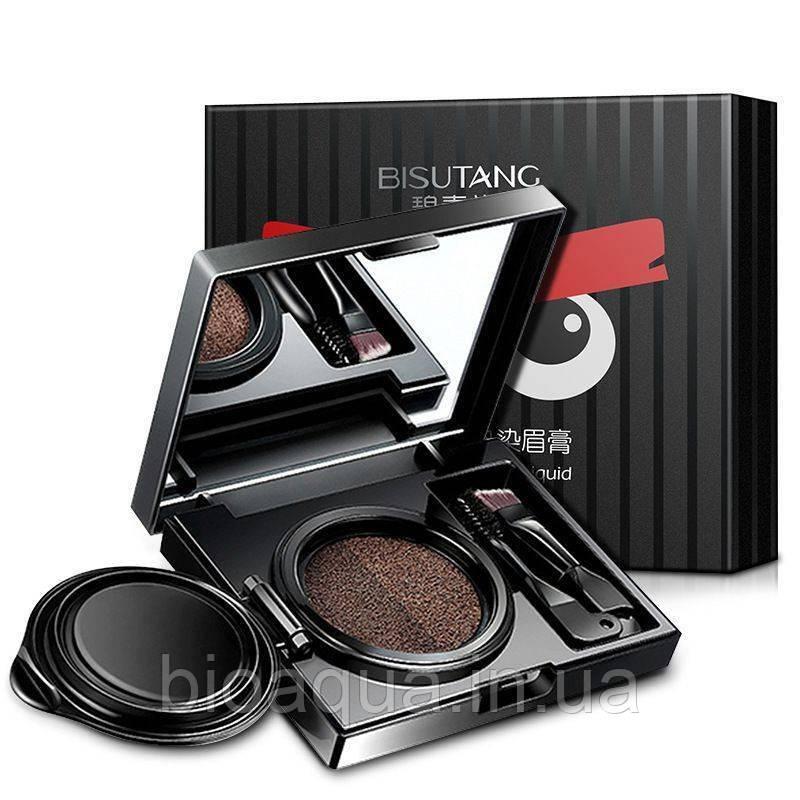 Кушон Bisutang Air Cushion eyebrow Cream для коррекции бровей №1 (Brown)
