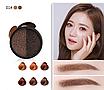 Кушон Bisutang Air Cushion eyebrow Cream для коррекции бровей №1 (Brown), фото 2