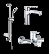 Набор смесителей для ванны IMPRESE Lesna 0510070670