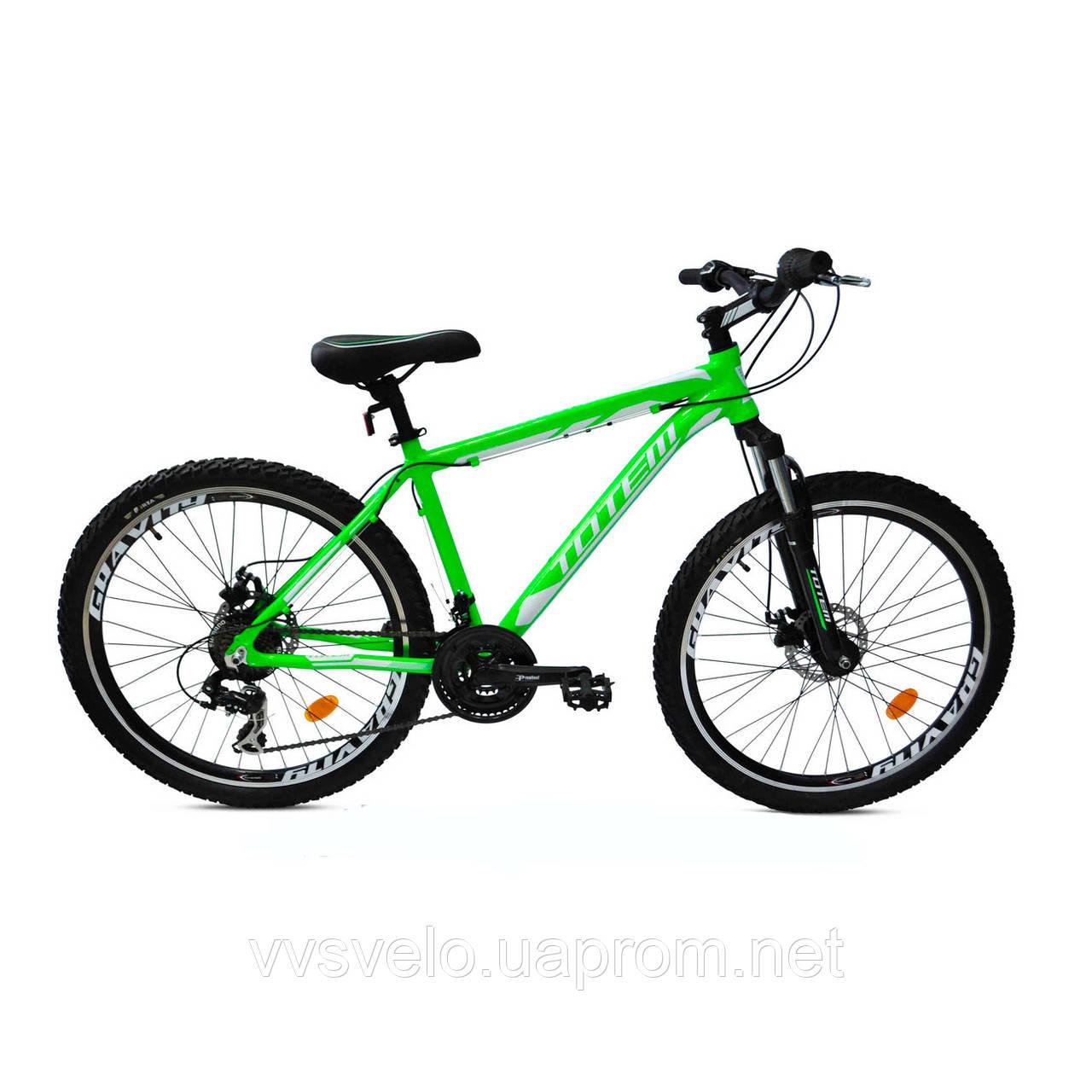 """Горный алюминевый велосипед Totem Ezreal MTB AL 26"""" розпродажа"""