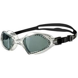 Окуляри для плавання тренувальні Arena Smartfit прозорі з чорними лінзами