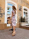 Женское стильное платье с поясом (в расцветках), фото 7