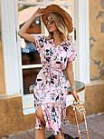 Женское стильное платье с поясом (в расцветках), фото 8