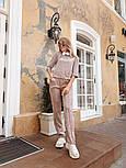 Женский стильный костюм из ангоры с белым воротником (в расцветках), фото 3