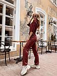 Женский стильный костюм из ангоры с белым воротником (в расцветках), фото 9