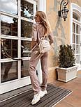Женский стильный костюм из ангоры с белым воротником (в расцветках), фото 10