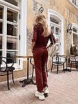 Женский стильный костюм из ангоры с белым воротником (в расцветках), фото 7