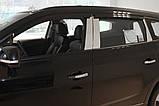 Дефлекторы окон (ветровики) Chevrolet Orlando 2011- (A134) Avtoclover, фото 4