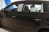 Дефлекторы окон (ветровики) Chevrolet Orlando 2011- (A134) Avtoclover, фото 5
