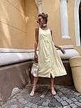 Женский сарафан на пуговицах (в расцветках), фото 6