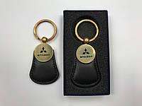 Брелок на ключи черный Митсубиши