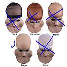 Сеточка шапочка под парик бежевая 2 шт., для фиксации волос для сна, фото 2