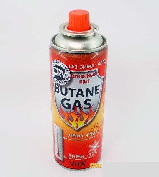 """Газовый баллон для туристической плиты """"Зима - Лето"""". Украина."""