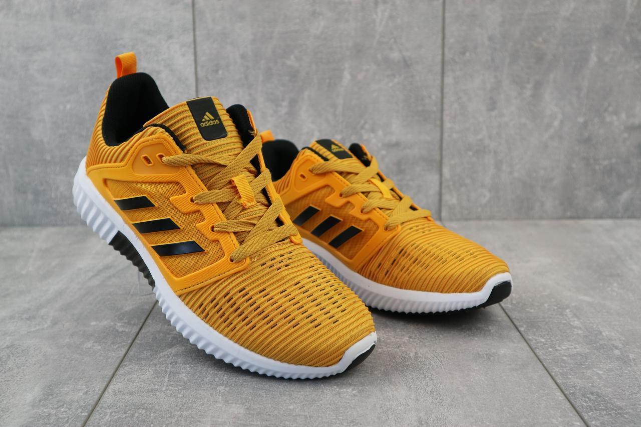 Кроссовки Adidas A 920 -9 (18032) (весна/осень, мужские, текстиль-рыжий)