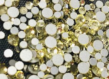 Стразы цвет Шампань , mix размеров , 720 шт, уп