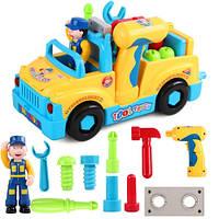 Детская музыкальная машинка с инструментами Huile Toys 789