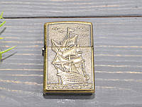 Бензиновая зажигалка Корабль, фото 1