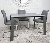Стол обеденный BRISTOL B 130/200*85 керамика мокрый асфальт Nicolas, фото 4