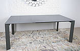Стол обеденный BRISTOL B 130/200*85 керамика мокрый асфальт Nicolas, фото 5
