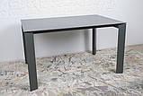 Стол обеденный BRISTOL B 130/200*85 керамика мокрый асфальт Nicolas, фото 6