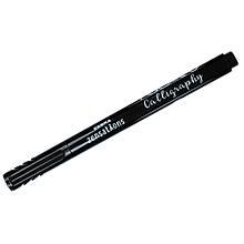 Линер Zebra черний Calligraphy pen 3,0мм