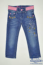 Good$Lucky Брюки джинсовые для девочки стрейчевые рост 74-86 A06