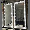 Зеркало в пол с лампочками Sun для салона красоты белого цвета, фото 5