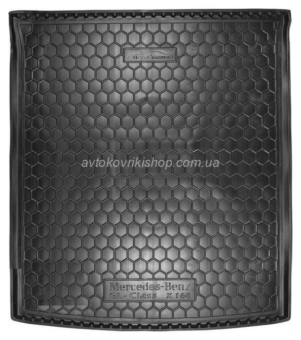Резиновый коврик багажника Mercedes-Benz X164 GL 2006- Avto-Gumm