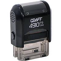 Оснастка для печатей и штампов Graff 42136-01(4910) черн Оснастка Glossy пласт. для штампа 26х10мм