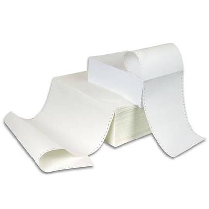 Бумага фальцованная перфорированная однослойная * 1-420N 420мм 50г/м 1700ар, фото 2