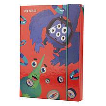 Папка для тетрадей Kite19 K19-210 B5 на гумцi, картон, Jolliers