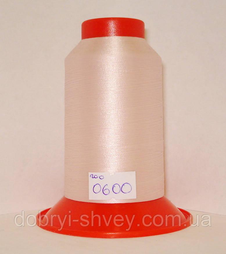 Нитка AMANN Serafil №200/2 5000м.col 0600 бледно-розовый (шт.)