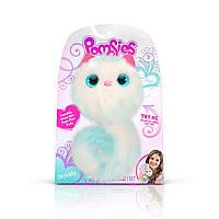 Интерактивная игрушка оригинал Pomsies Snowball Снежный шар белый котик