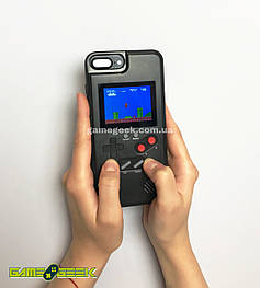 Чехол Game Boy Black для iPhone 6 Plus / 7 Plus / 8 Plus (36 игр)