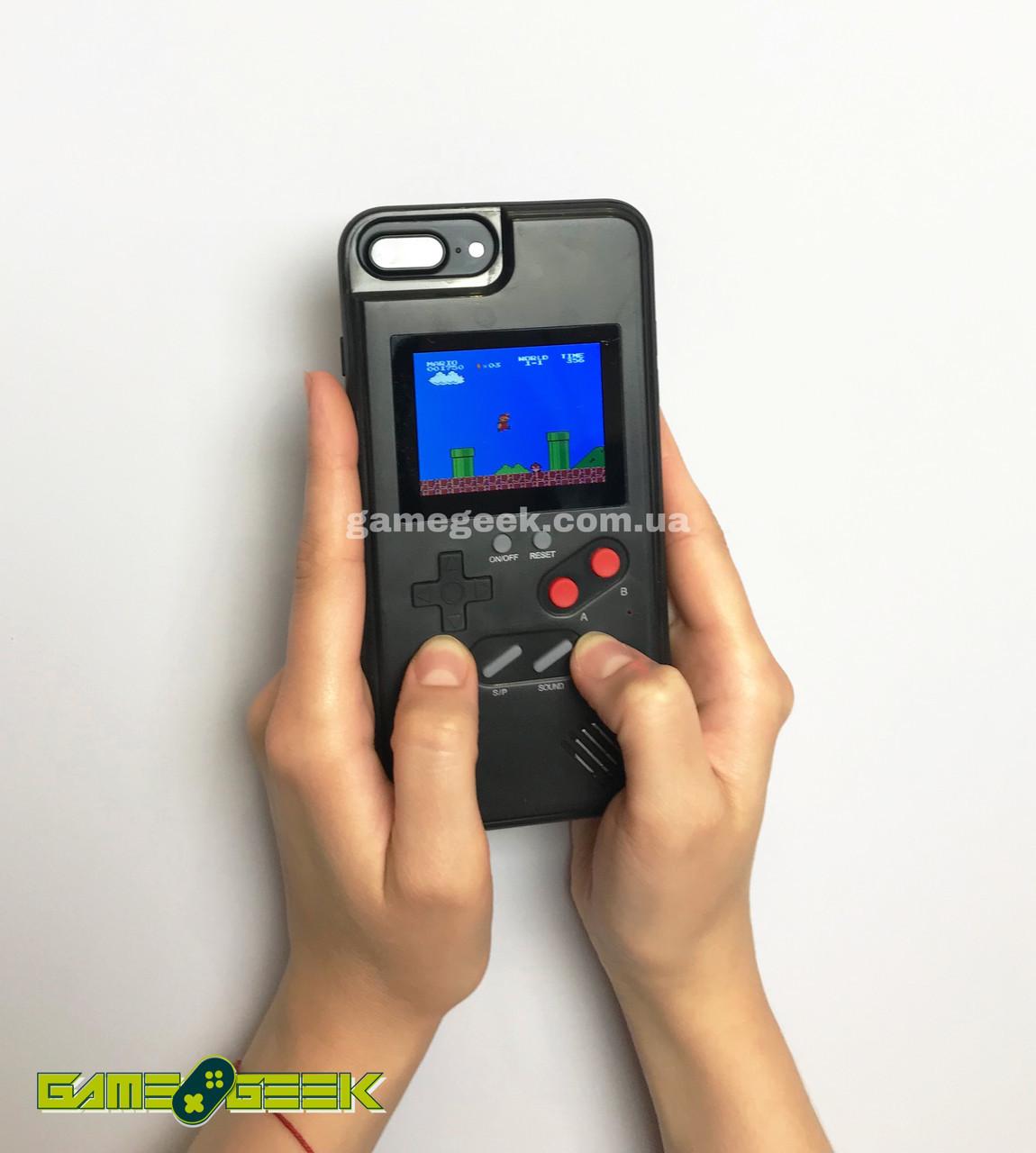 Чехол Game Boy Black для iPhone X (36 игр)