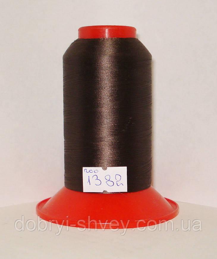 Нитка AMANN Serafil №200/2 5000м.col 1382 коричневый (шт.)