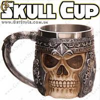 """Кружка с черепом - """"Skull Cup"""", фото 1"""