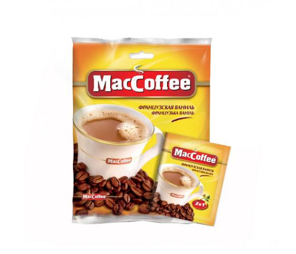 Кофейный напиток MacCoffee Ваниль 3в1 (20х18 г)