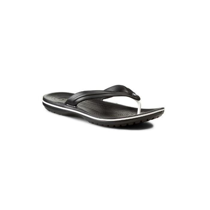 Вьетнамки мужские Crocs Crocband Flip Flop черные 40-41 разм.