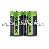 Батарейка щелочная C LR14 Videx шринк кард 2 шт