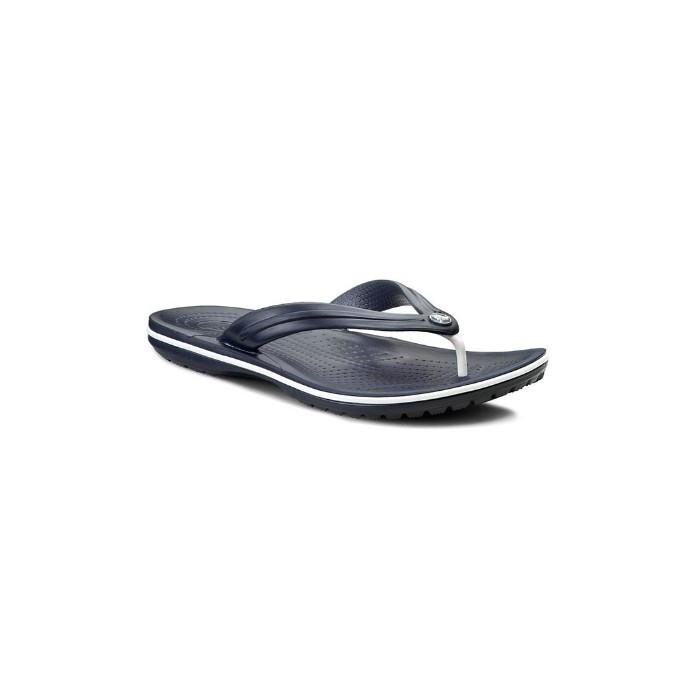 Мужские вьетнамки Crocs Crocband Flip Flop темно-синие 40-41 разм.